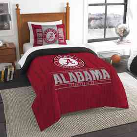1COL862000018RET: NW NCAA Twin Comforter Set, Alabama