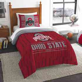 1COL862000007RET: NW NCAA Twin Comforter Set, Ohio State