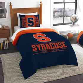 1COL862000040RET: NW NCAA Twin Comforter Set, Syracuse