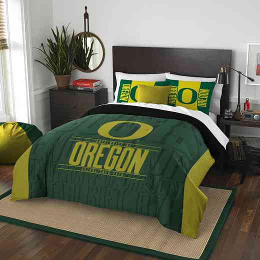 1COL849000081RET: NW NCAA F/Q Comforter Set, Oregon