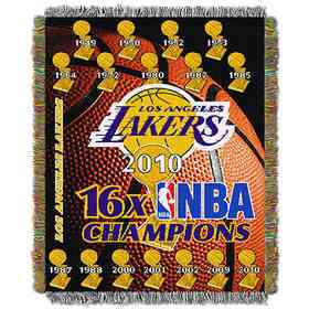 1NBA051500013RET: NW NBA Comm Tapestry Throw, Lakers