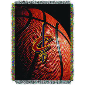 1NBA051030005RET: NW NBA Photo Real Tap Throw, Cavaliers