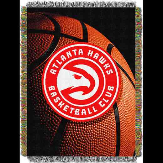 1NBA051030001RET: NW NBA Photo Real Tap Throw, Hawks