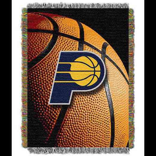 1NBA051030011RET: NW NBA Photo Real Tap Throw, Pacers