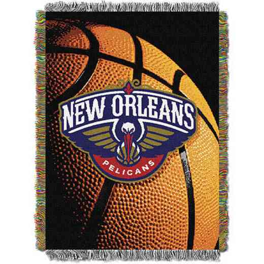 1NBA051030003RET: NW NBA Photo Real Tap Throw, Pelicans