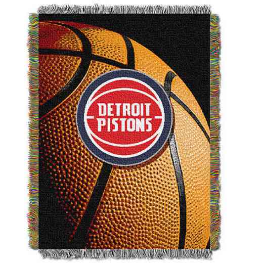 1NBA051030008RET: NW NBA Photo Real Tap Throw, Pistons