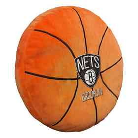 1NBA199000017RET: NW NBA 3D Sports Pillow, Nets