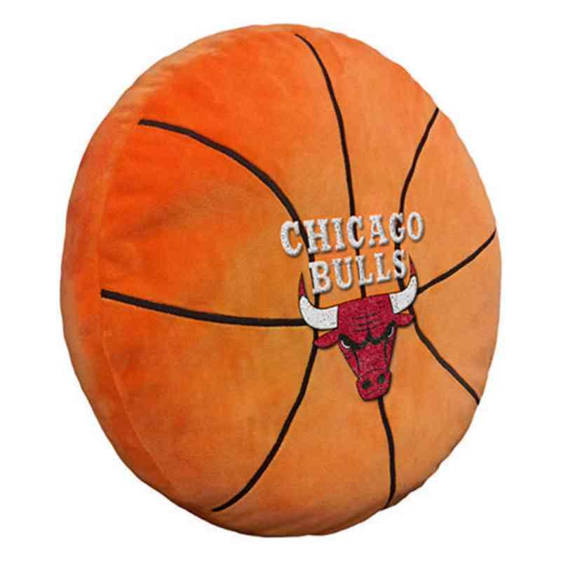 1NBA199000004RET: NW NBA 3D Sports Pillow, Bulls