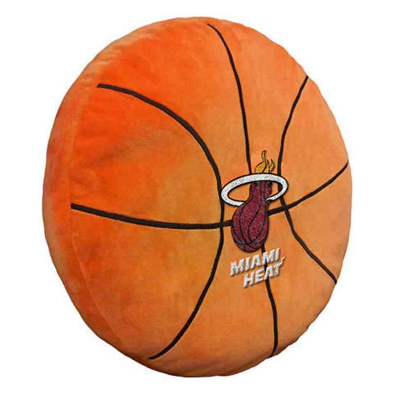 1NBA199000014RET: NW NBA 3D Sports Pillow, Heat
