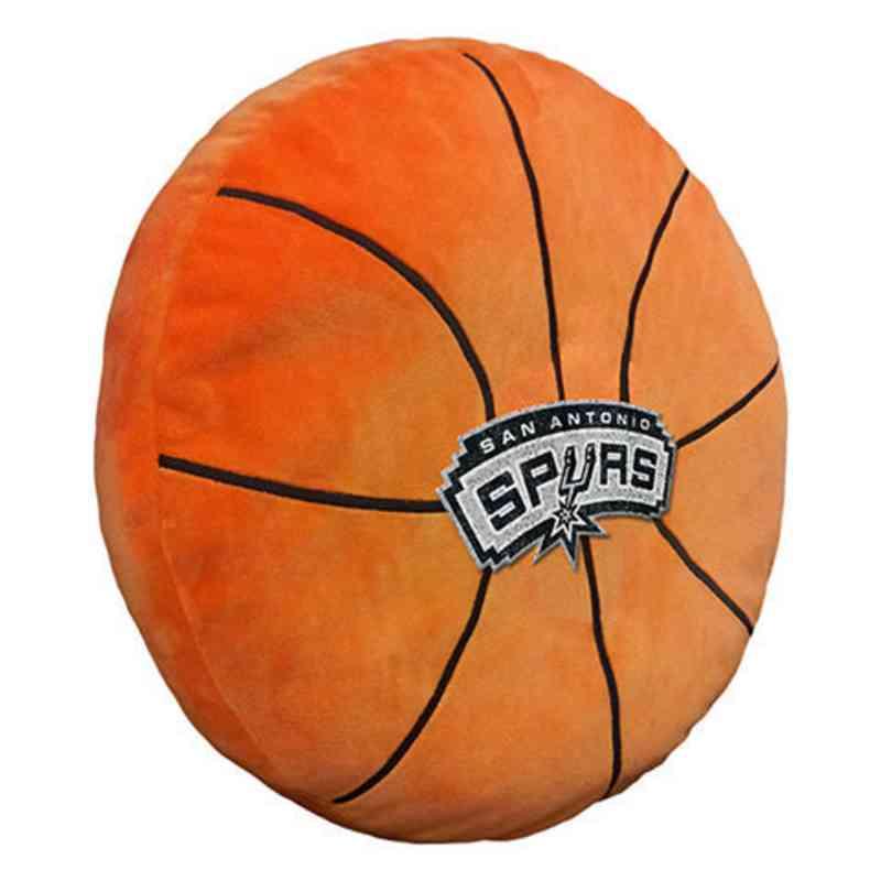 1NBA199000024RET: NW NBA 3D Sports Pillow, Spurs