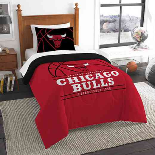 1NBA862010004RET: NW NBA T RS Bedding Set, Bulls