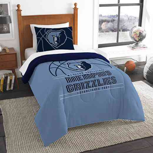 1NBA862010028RET: NW NBA T RS Bedding Set, Grizzlies