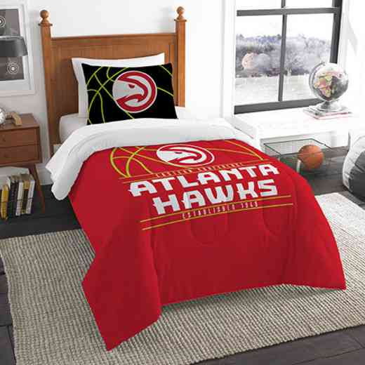 1NBA862010001RET: NW NBA T RS Bedding Set, Hawks