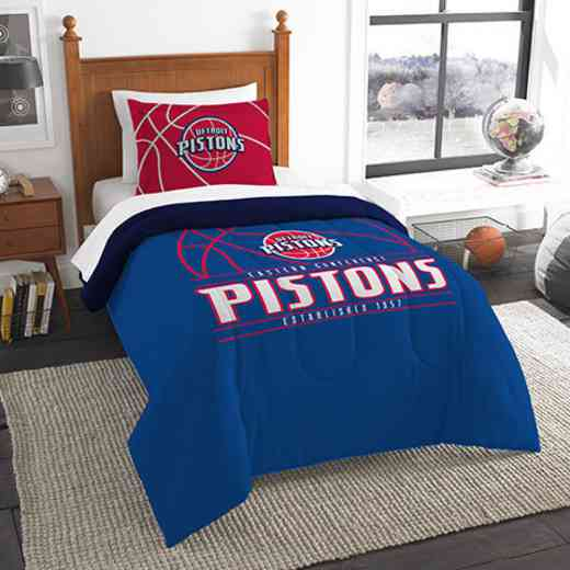 1NBA862010008RET: NW NBA T RS Bedding Set, Pistons