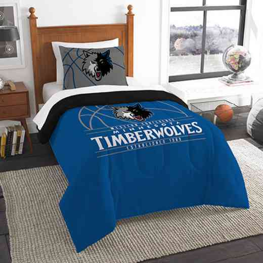 1NBA862010016RET: NW NBA T RS Bedding Set, Timberwolves