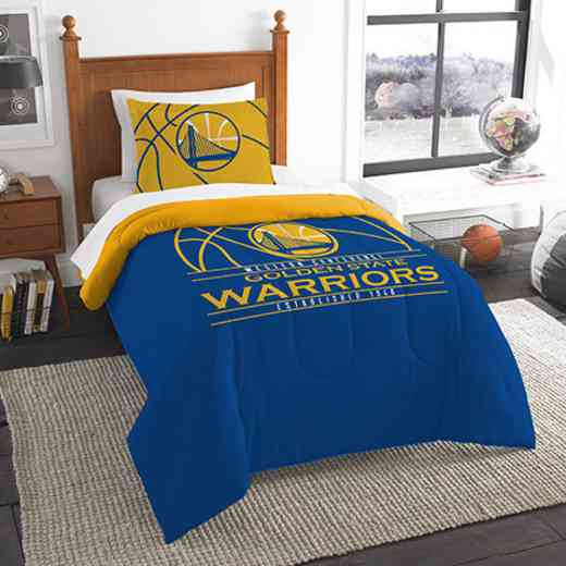 1NBA862010009RET: NW NBA T RS Bedding Set, Warriors