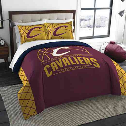 1NBA849000005RET: NWNBA F/Q RS Bedding Set, Cavaliers
