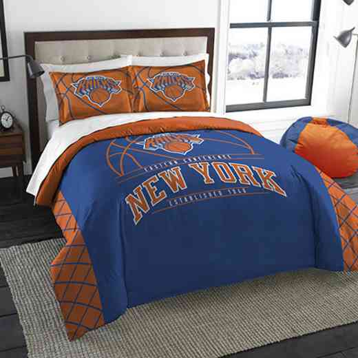 1NBA849000018RET: NWNBA F/Q RS Bedding Set, Knicks