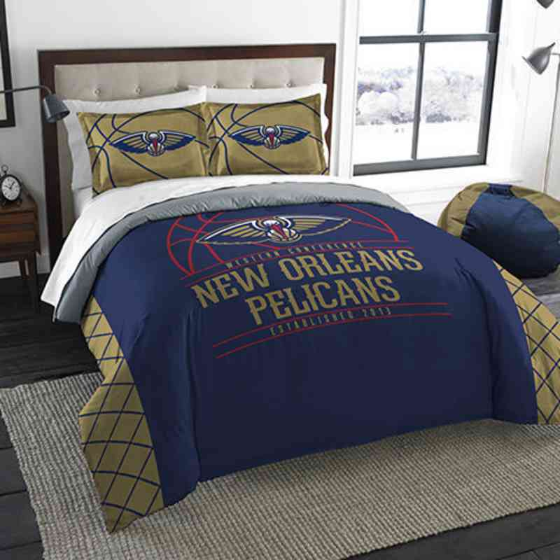 1NBA849000003RET: NWNBA F/Q RS Bedding Set, Pelicans