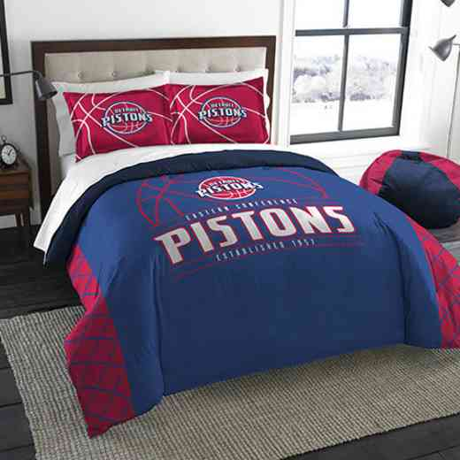 1NBA849000008RET: NWNBA F/Q RS Bedding Set, Pistons