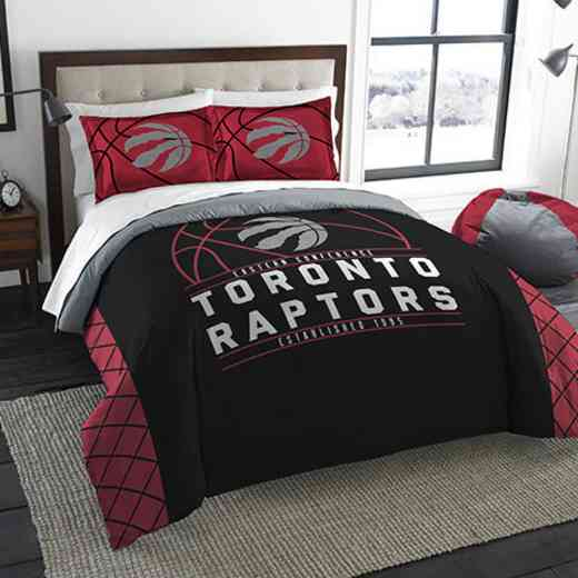 1NBA849000026RET: NWNBA F/Q RS Bedding Set, Raptors