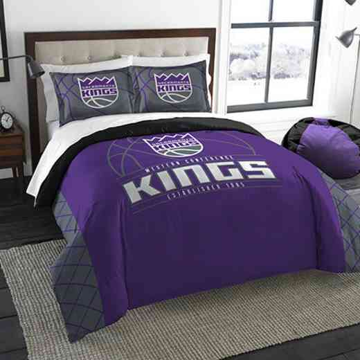 1NBA849000023RET: NWNBA F/Q RS Bedding Set, Kings