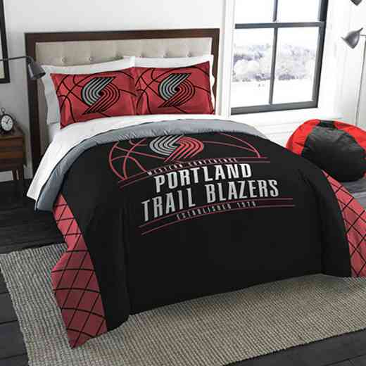 1NBA849000022RET: NWNBA F/Q RS Bedding Set, Trail Blazers