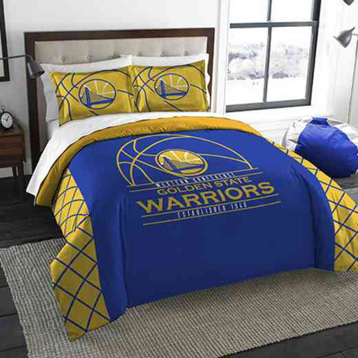 1NBA849000009RET: NWNBA F/Q RS Bedding Set, Warriors