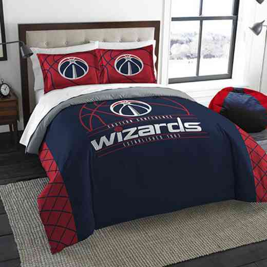 1NBA849000029RET: NWNBA F/Q RS Bedding Set, Wizards