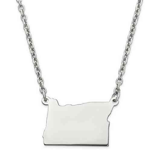 XNA706SS-OR: 925 OREGON PENDANT W CHAIN