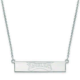 SS016EAG-18: 925 Philadelphia Eagles Bar Necklace