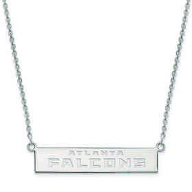 SS016FAL-18: 925 Atlanta Falcons Bar Necklace