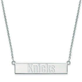 SS019KNI-18: 925 New York Knicks Bar Necklace