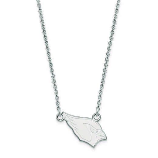 SS011CAR-18: 925 Arizona Cardinals Pendant Necklace