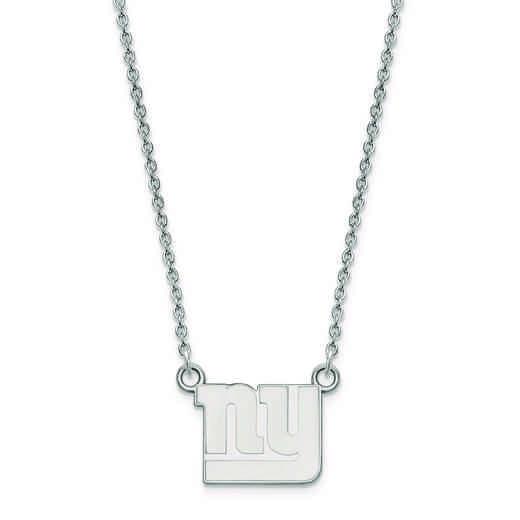 SS011GIA-18: 925 New York Giants Pendant Necklace