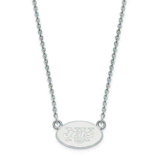 SS011JET-18: 925 New York Jets Pendant Necklace