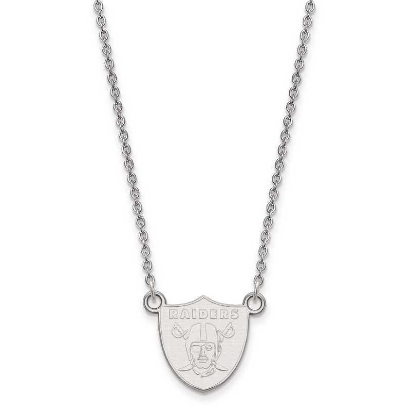 SS011RAI-18: 925 Oakland Raiders Pendant Necklace