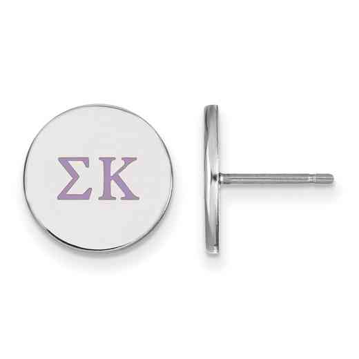 SS032SKP: 925 Sigma Kappa Enml Post Ears