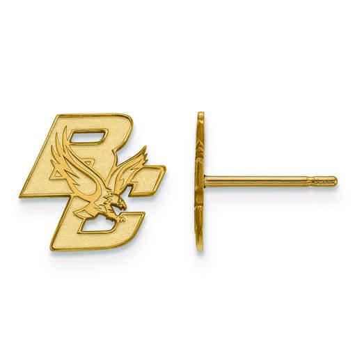 GP016BOC: 925 GP LogoArt Boston College Post Ears
