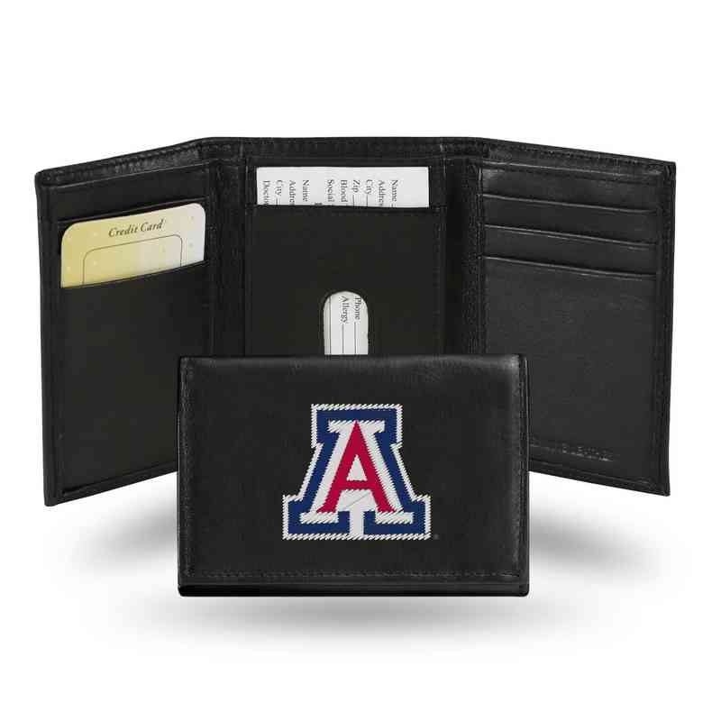 RTR460102: NCAA RTR Trifold Wallet, Arizona