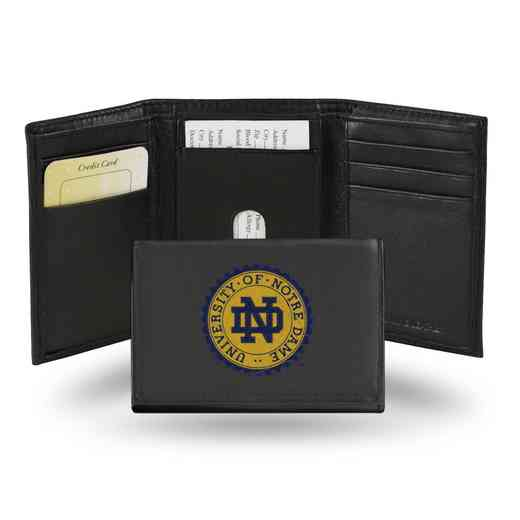 RTR200302: NCAA RTR Trifold Wallet, Notre Dame