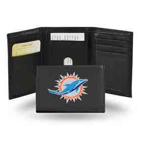RTR1103: NFL RTR Tri-fold Wallet, Dolphins