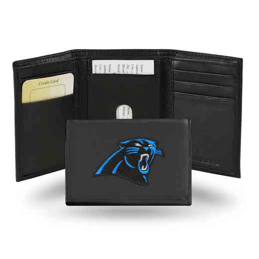 RTR0802: NFL RTR Tri-fold Wallet, Panthers - CR