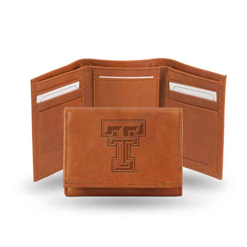 STR260801: NCAA STR Trifold Wallet, Texas Tech