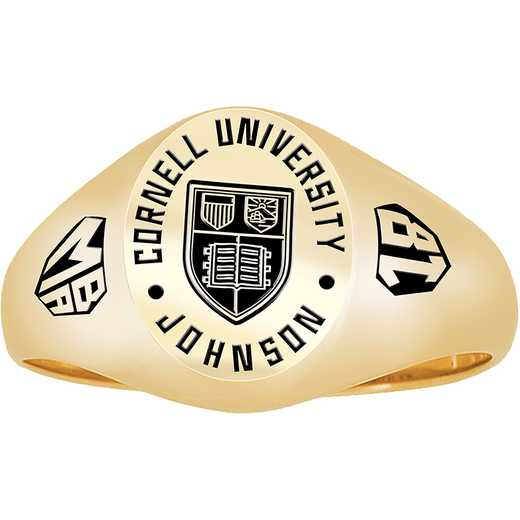 Cornell School of Management Women's Small Signet Ring