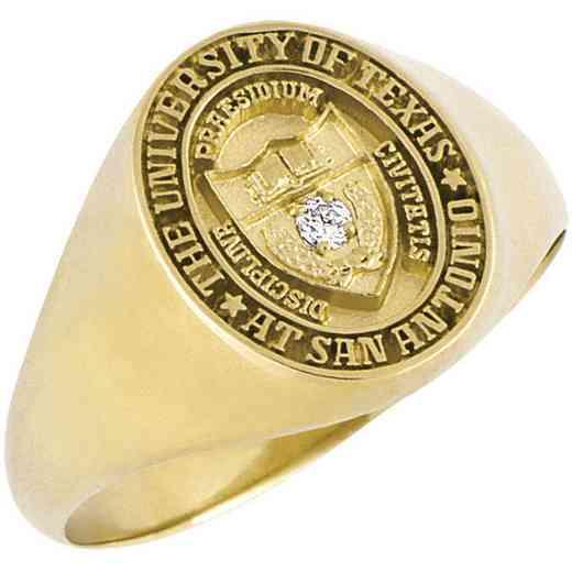 University of Texas at San Antonio Women's Small Signet Ring