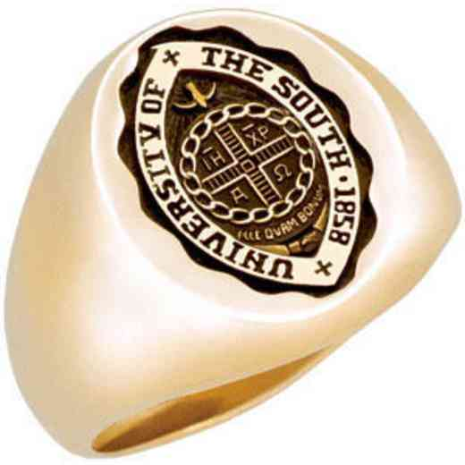 University of The South Men's Large Signet Ring