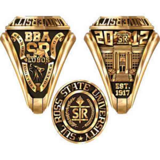 Sul Ross State University Men's Traditional Ring
