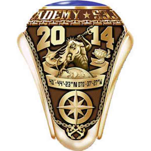 Massachusetts Maritime Academy 2014 Women's Traditional Ring