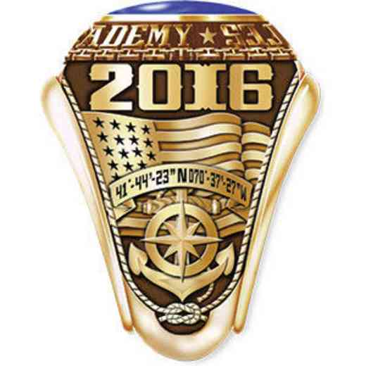Massachusetts Maritime Academy 2016 Women's Traditional Ring